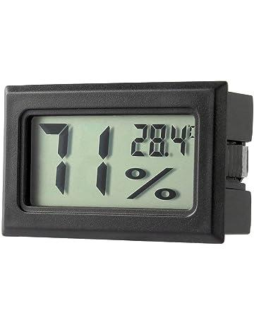 Isuper Medidor de Temperatura Mini Digital LCD Termómetro higrómetro Humedad Interior para su Casa
