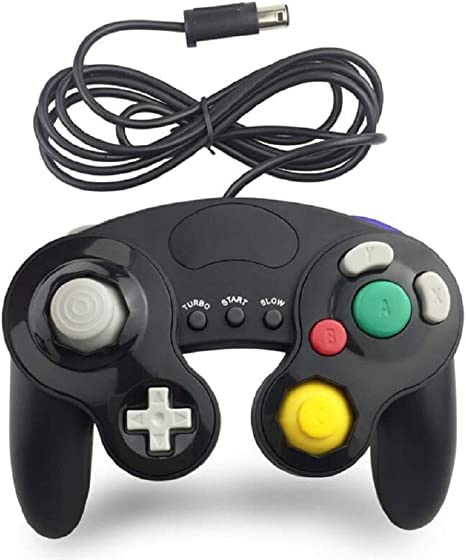 Gamecube NGC Controlador con Cable, BRIGHTSHOW Super Smash Bros Ultimate NGC Controlador para Nintendo Switch: Amazon.es: Electrónica