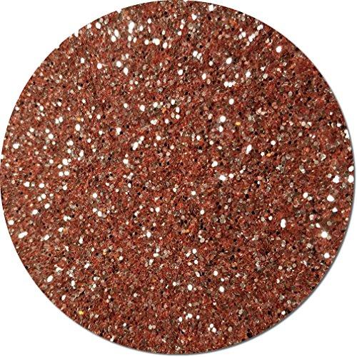 Glitter My World! Chunky Flake Craft Glitter: 1 lb Jar A Rose Gold by Glitter My World!