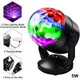 Party Lights Disco Light Disco Ball Party Strobe Light, Sound Activated Party Lights for Dance Parties, Halloween, Christmas,Party,Gift,Birthday,Celebration or Decorations