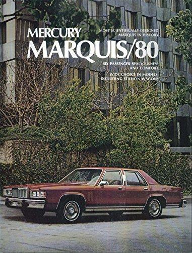 1980 Mercury Marquis + Grand Marquis sales brochure