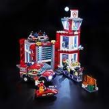 BRIKSMAX Kit de Iluminación Led para Lego City Fire Parque de Bomberos, Compatible con Ladrillos de Construcción Lego…