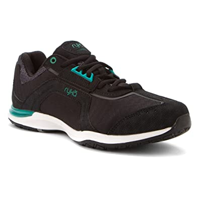 Transition Shoes Womens Black Green