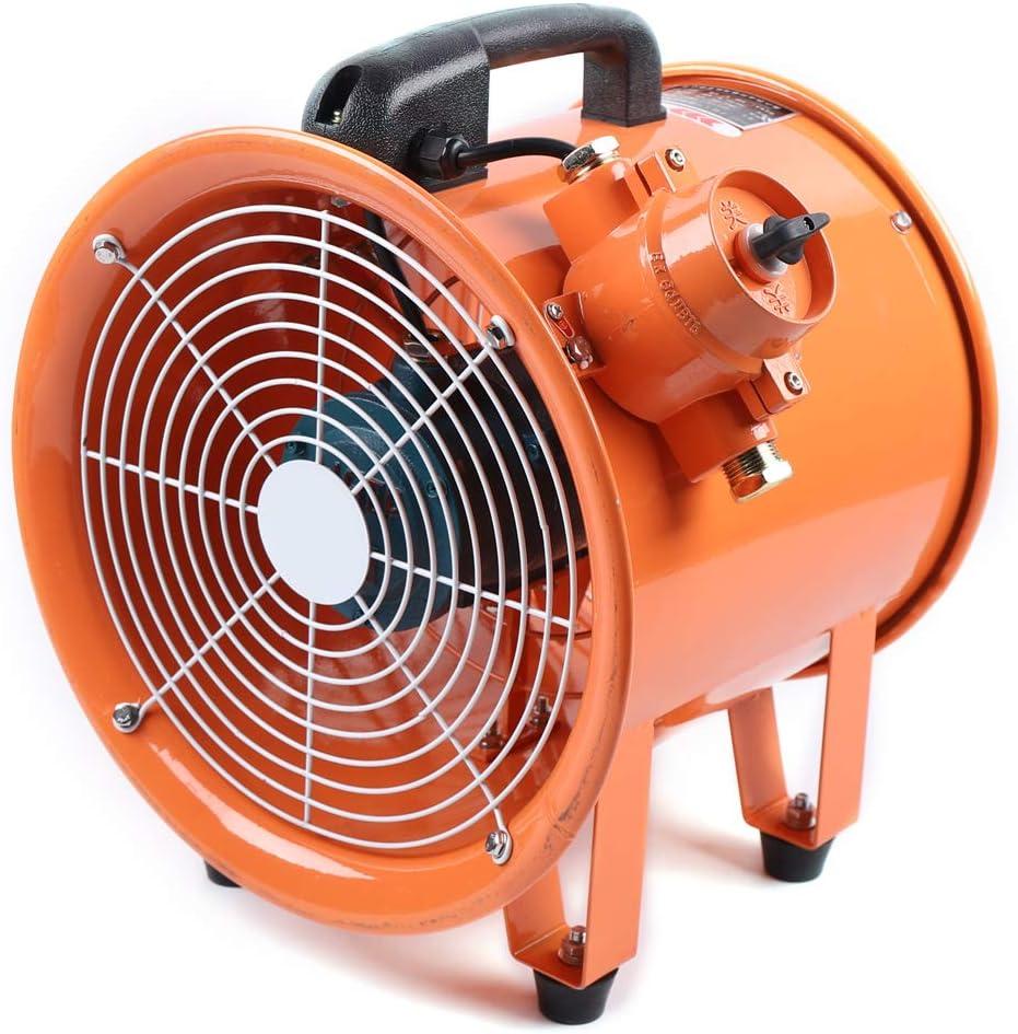 Ventilador axial, 300 mm, 220 V, 370 W, protección contra ...