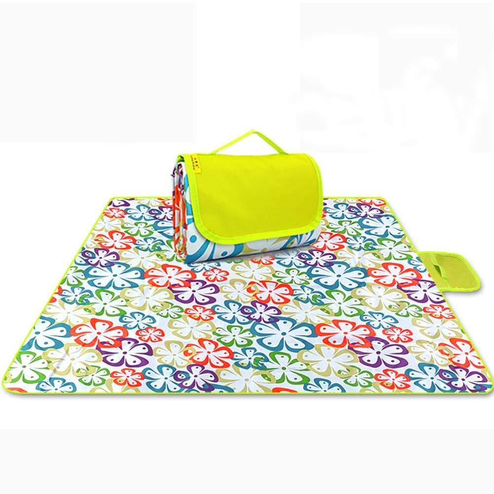 DsteLasyl Wasserdicht Picknickdecke,Outdoor-Faltbare Portable Sommerstrand PVC PVC PVC pad verschleißfesten Umweltschutz & wärmedämmung-G 200x200cm(79x79inch) B07PLGT4D4   Hohe Sicherheit  c346cf