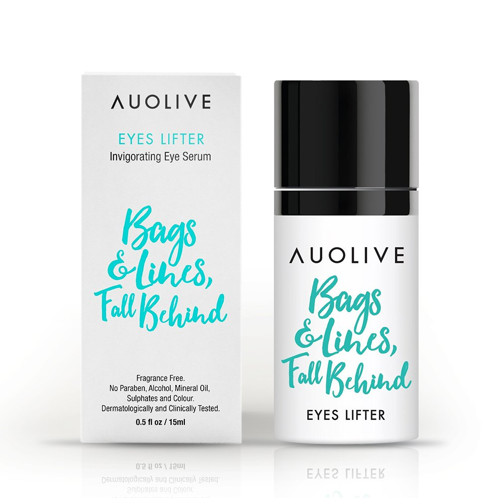 Auolive Premium Anti Aging Eye Cream For Dark Circles & Puffiness - Award Winning Under Eye Serum For Wrinkles  & Eye Bags by Auolive (Image #1)