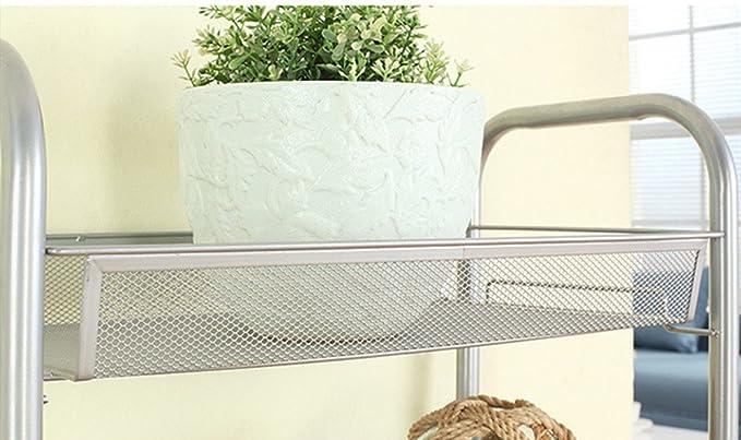 Carrellino Salvaspazio Cucina : Asvert carrello da cucina carrellino per bagno scaffale mensola