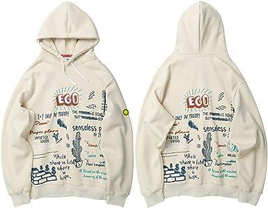 Autumn Star Printing Mens Hooded Jacket and Sweatshirt Harajuku Casual Zipper