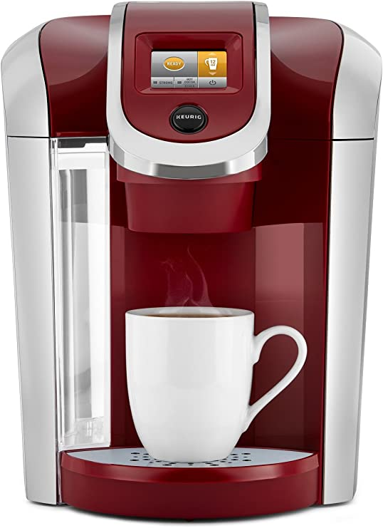 Keurig K475 Coffee Maker, Single Serve K-Cup Pod Coffee Brewer, Programmable Brewer, Vintage Red