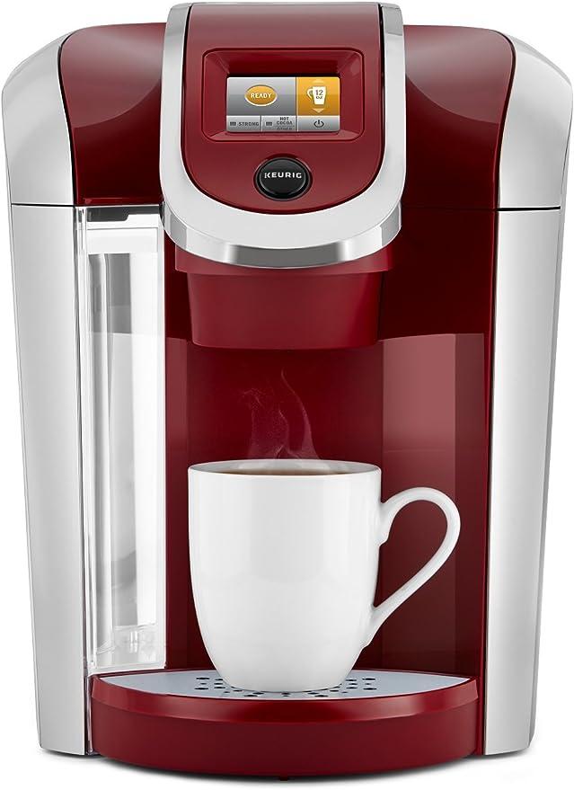 Keurig K475 Coffee Maker, Single Serve K-Cup Pod Coffee Brewer, Programmable Brewer, Vintage Red