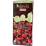 Chocolate Negro Con Frutas de Bosque Sin Azúcares/STEVIA./125 Grs