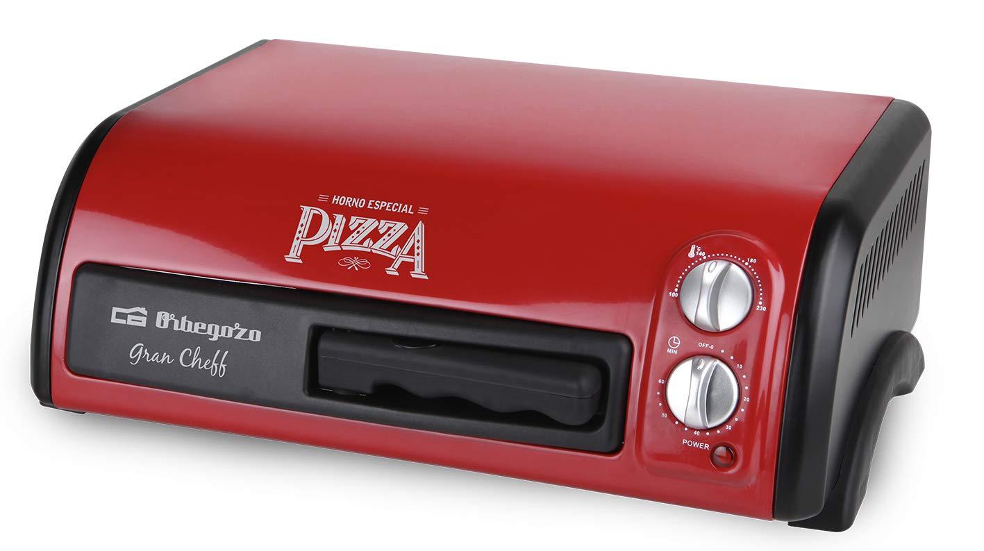 Orbegozo HO 150 - Horno para Pizza, 1300 W de Potencia, 15 litros ...