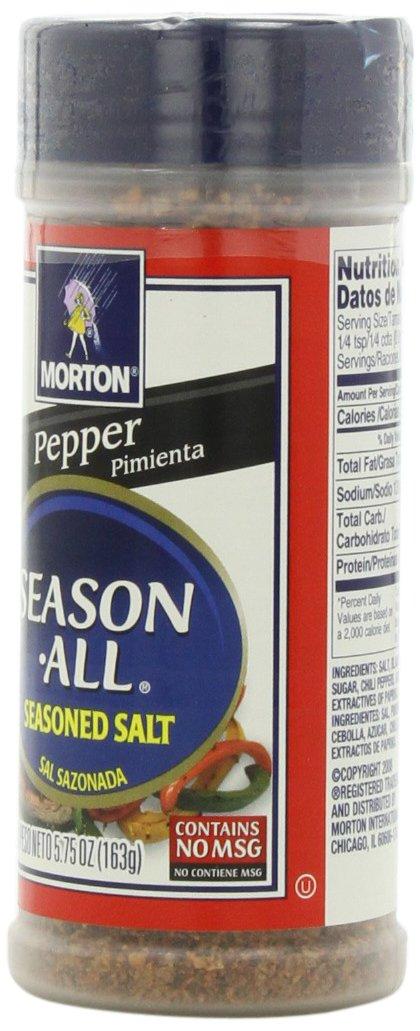 Amazon.com : Morton Season-All Seasoned Salt, Spicy, 7.25-Ounce (Pack of 12) : Flavored Salt : Grocery & Gourmet Food