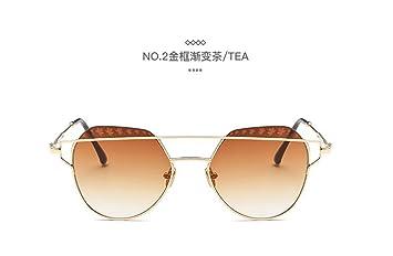 mode sonnenbrille helle sonnenbrille Retro metall sonnenbrille silberrahmen hu5kjqIJ2