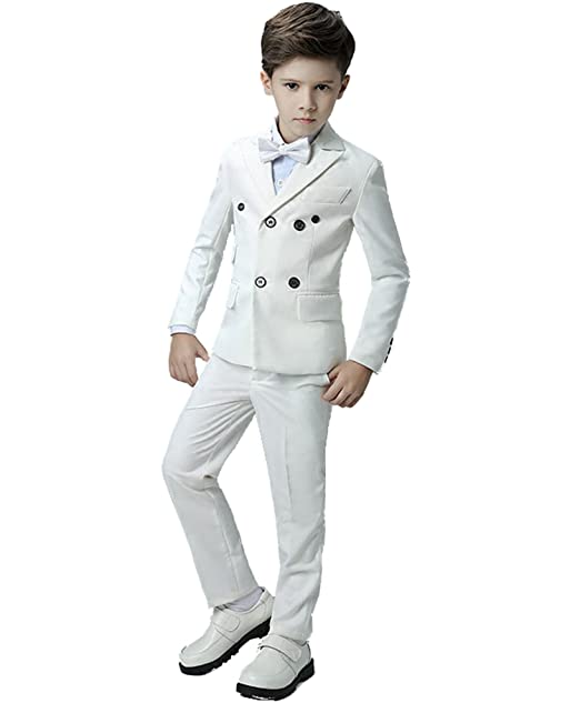 Amazon.com: yanlu Kids Boys trajes set traje esmoquin Slim ...