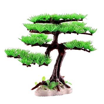 Homyl Planta Acuario Pecera Paisajismo Simulación Material Pástico Dióxido de Carbono - Estilo 1: Amazon.es: Jardín