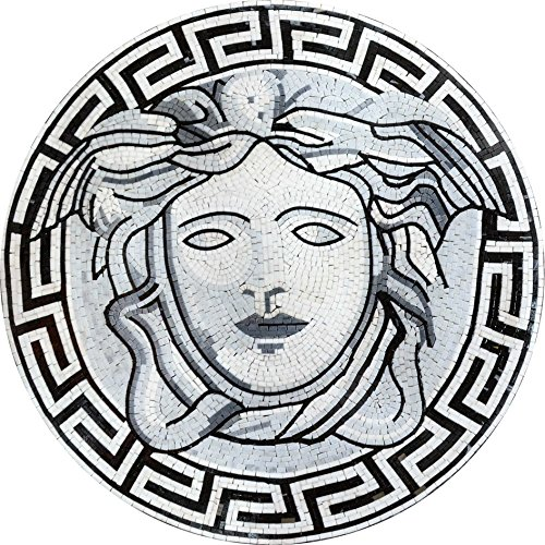 Mosaic Illustrative Medallion - Medallion Versace