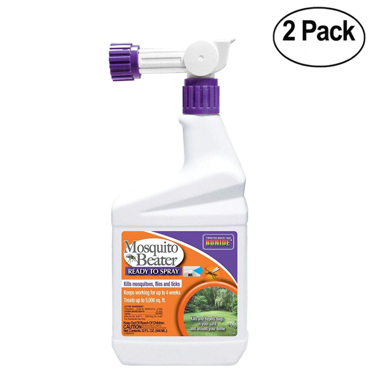 Bonide Pest Repellents (Bonide 680 RTS Mosquito Beater, 1Quart Pack of 2) by Bonide