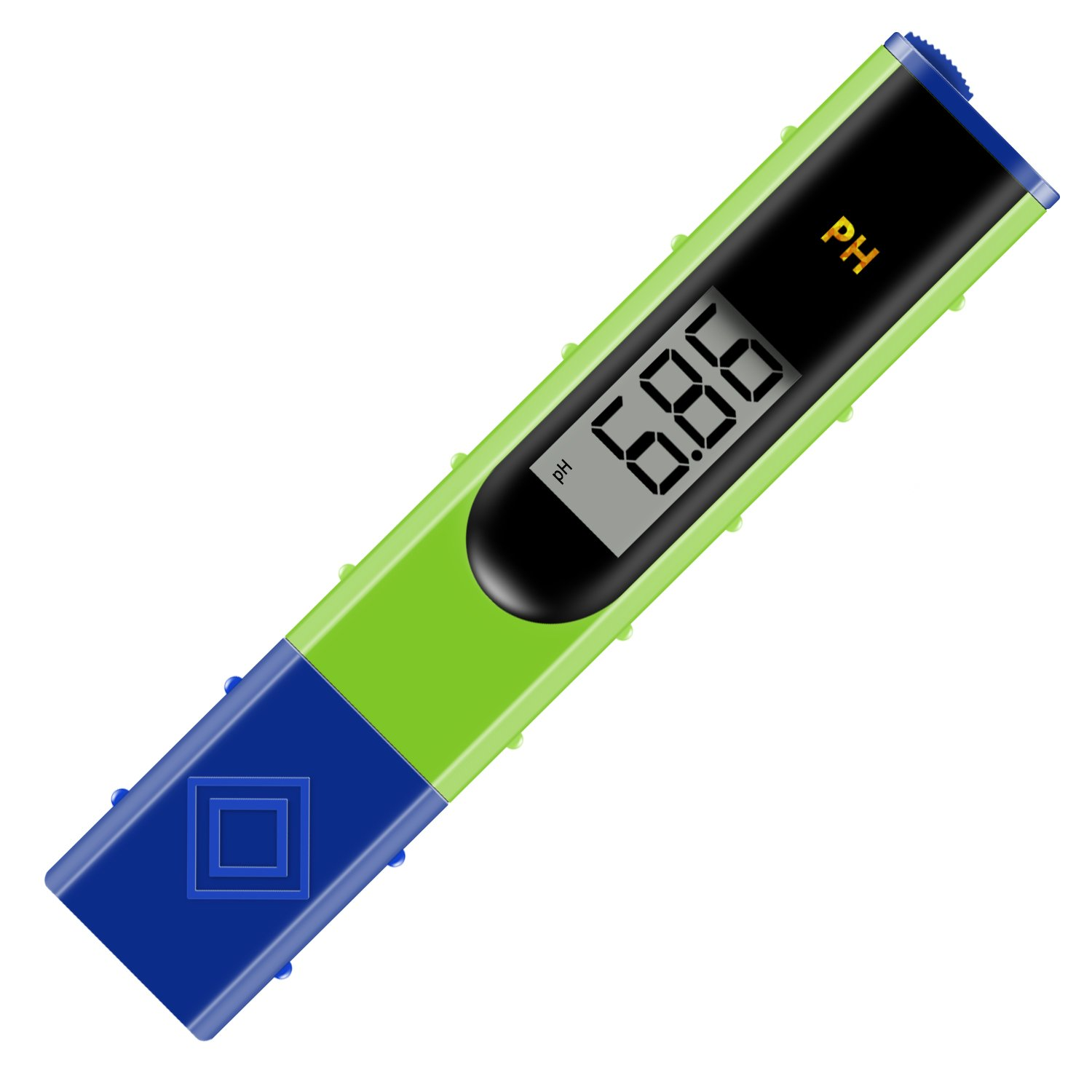 "pH Meter, Jellas pH-061 0.01 Resolution Pocket Size pH Meter Water Quality Tester with 1.2"" Arc LCD Display for Household Drinking Water, Pool and Aquarium Water pH Test."