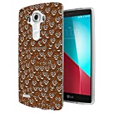 003368 - Poop emoji bomb Design LG G3 Fashion Trend CASE Gel Rubber Silicone All Edges Protection Case Cover