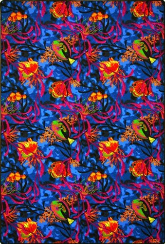 Joy Carpets - Neon Lights Collection - Under the Sea 12' x 6'