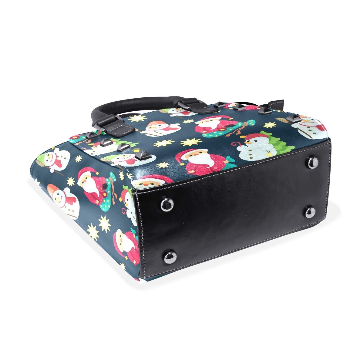 Large Plastic Christmas Bells Womens Classy Satchel Handbag Handbag With shoulder Strap Crossbody Bag