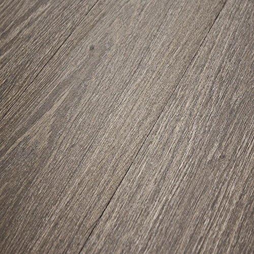 Varnished Oak Laminate Flooring - Quick-Step Eligna Dark Grey Varnished Oak 8mm Laminate Flooring U1305 SAMPLE