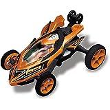 Race Tin Micro Stunt Racer, 1:32 Scale, Orange Vehicle