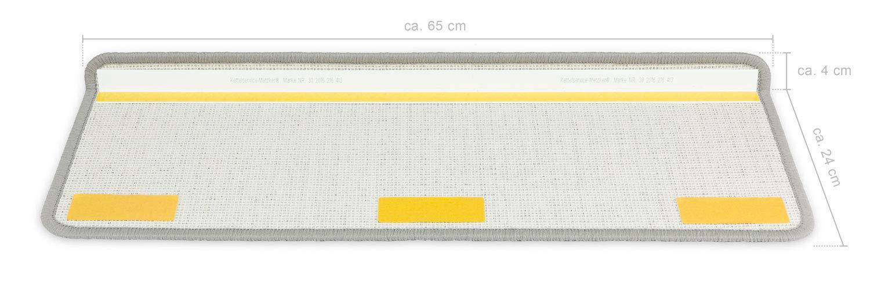 Kettelservice-Metzker Stufenmatten Monza Rechteckig - versch. versch. versch. Set Varianten & Farben   (14 Stk. Beige) B00O45C6K4 Stufenmatten acd9a2