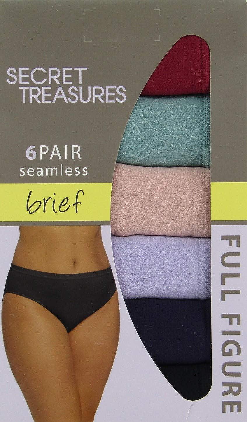 Secret Treasures Womens Plus Seamless Brief Panties