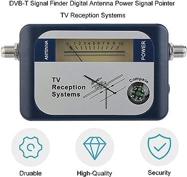 DVB-T Buscador Antena Digital Antena de TV terrestre Señal ...