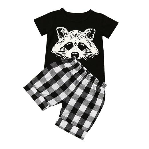 b234920d09b526 Bekeleideung Neugeborene Sommer Kleidung Set Kurzarm T-Shirt Tops Hosen  Outfits Boy Kinder jungen T