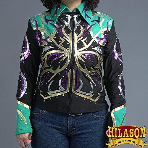 Horsemanship Shirt (HILASON RODEO QUEEN WESTERN HORSEMANSHIP RIDING SHOWMANSHIP RAIL PLEASURE JACKET SHIRT)