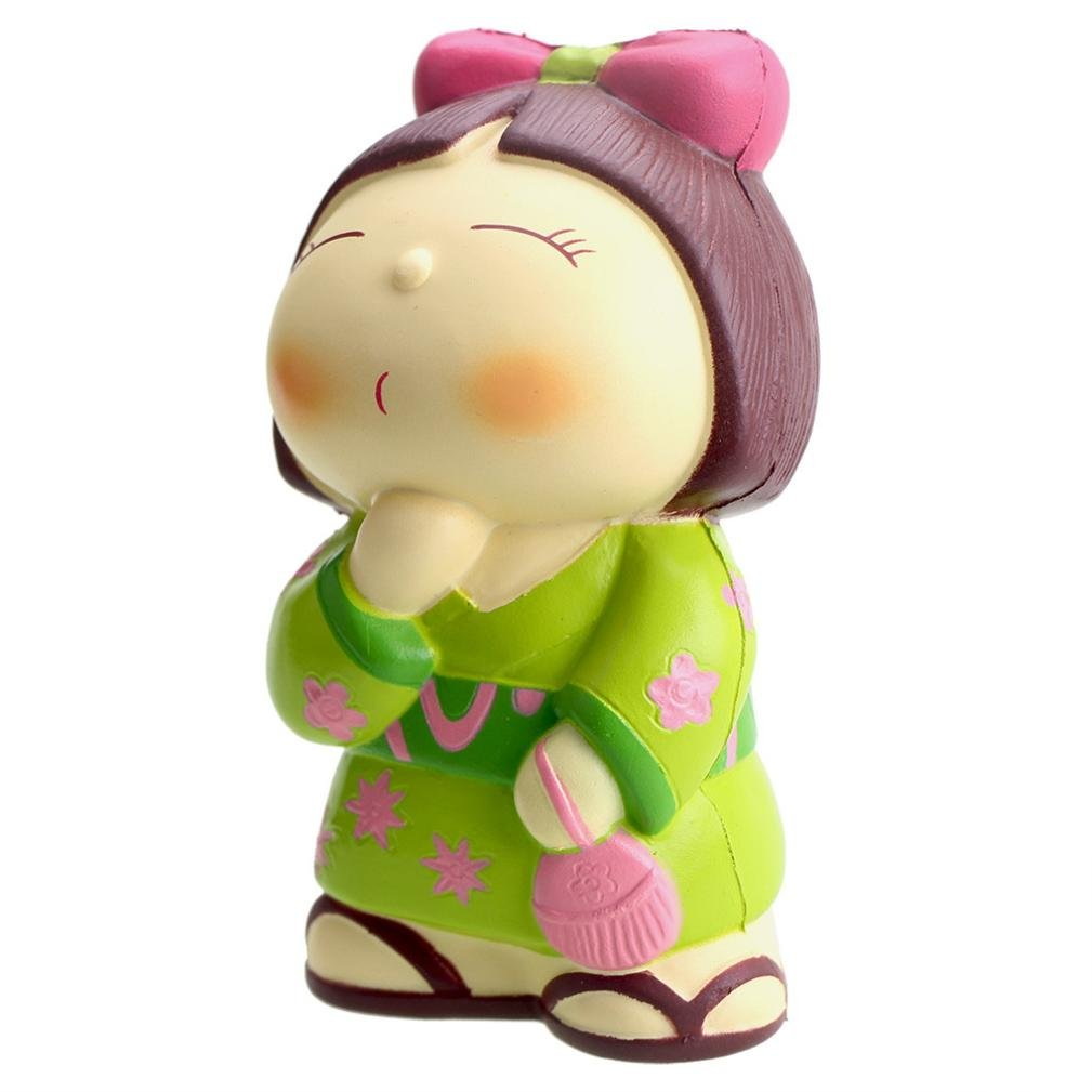 CSSD Squishy {Hamster/Panda Burger/Strawberry Mouse/Jumbo Strawberry Cake/Cartoon Big Eye Bear/Moon Unicorn/Cute Panda Cake} {Slow Rising} {Stress Reliever} Fun Squeezable Healing Gifts To (B)