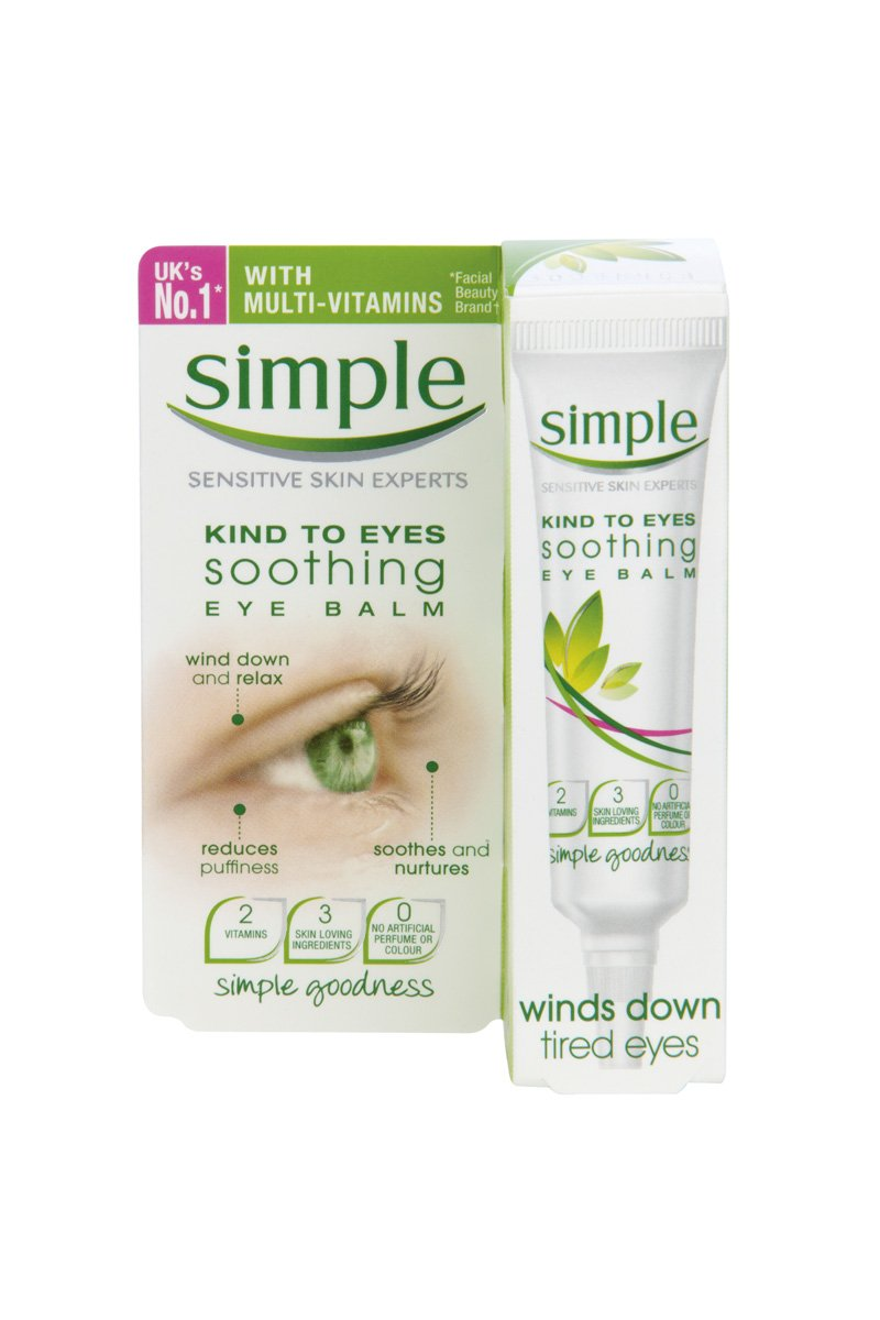 Simple Kind to Eyes Soothing Eye Balm 15ml Pack of 3 HealthCenter 2849537