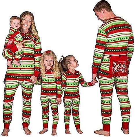 Conjunto de Pijamas Familiares de Navidad, Trajes Navideños ...