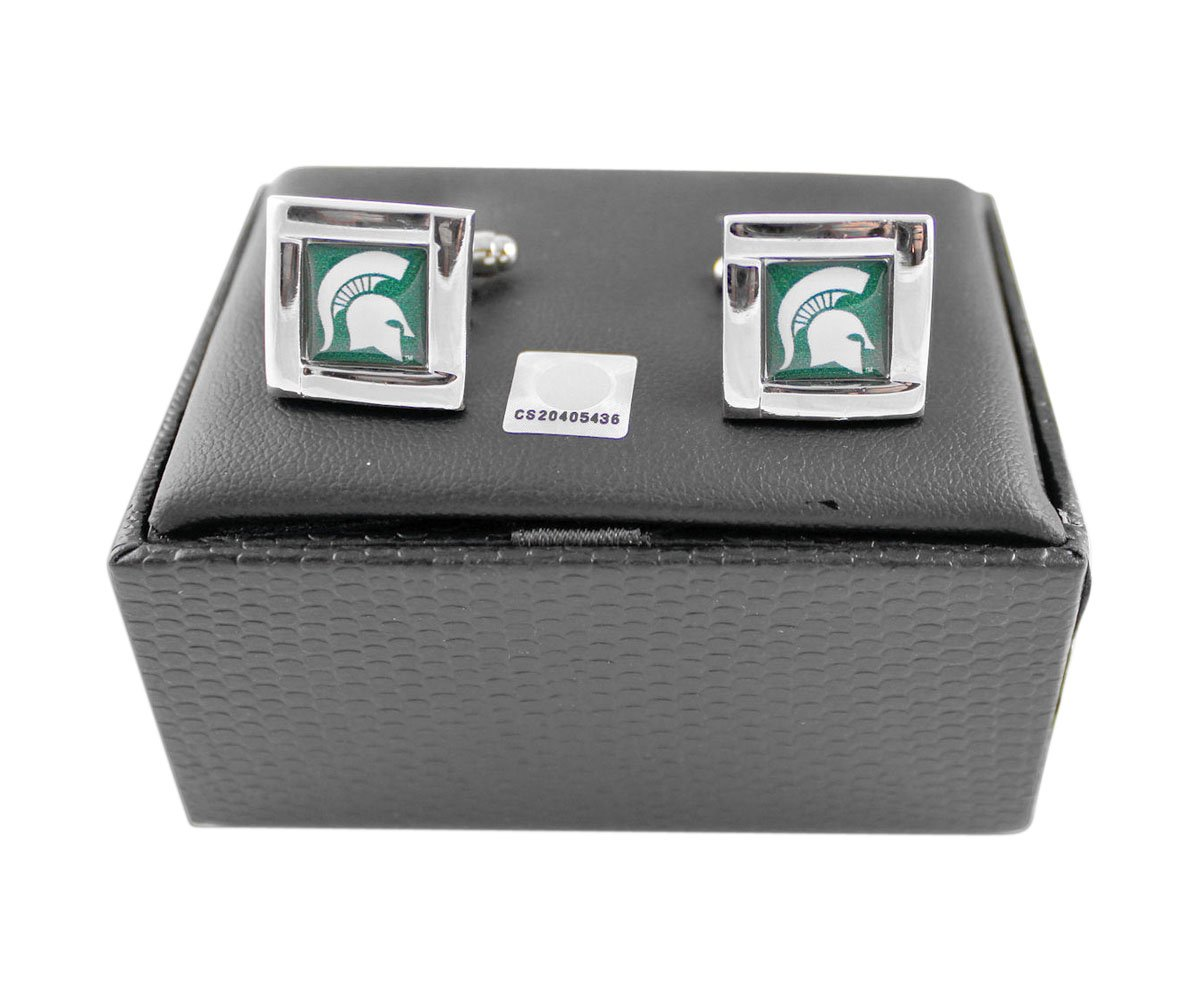 Michigan State Spartans - NCAA Team Logo Cufflinks