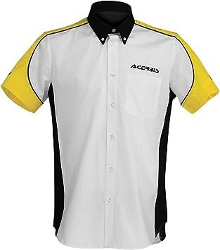 camisa Racing Blanco/Negro XXL: Amazon.es: Coche y moto