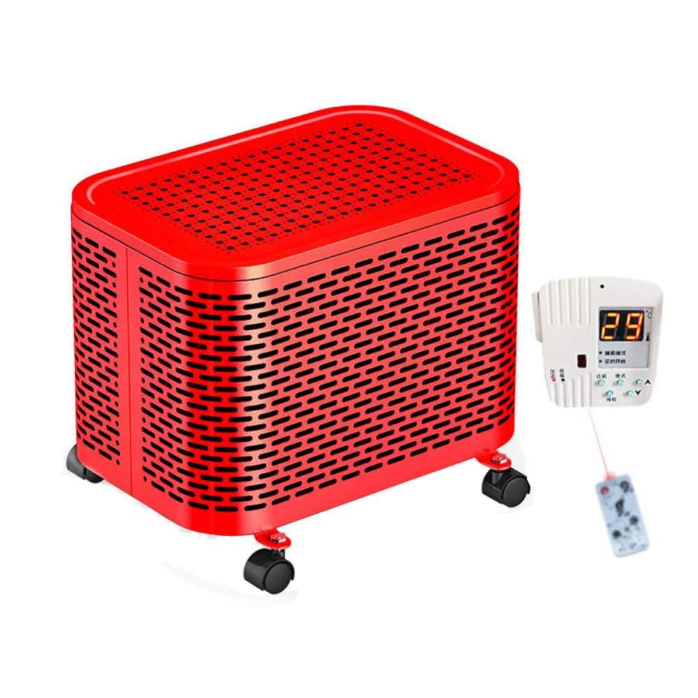 Acquisto CZPF Riscaldatori Elettrici Riscaldatore Elettrico in Ceramica Personale Mini Riscaldatore Elettrico Invernale Riscaldatore Elettrico per Riscaldamento Domestico,Remote-Red Prezzi offerte