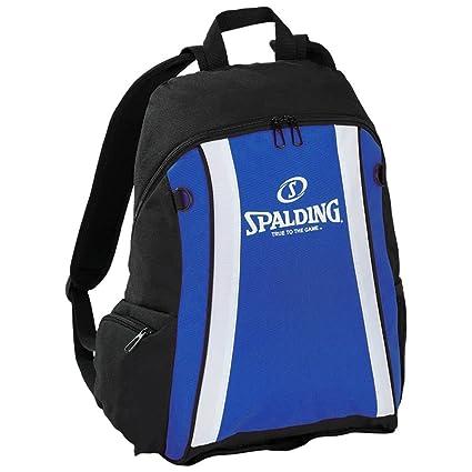 Spalding Funda Backpack, Color Royal/Schwarz/Weiß, tamaño 47 x 39 ...