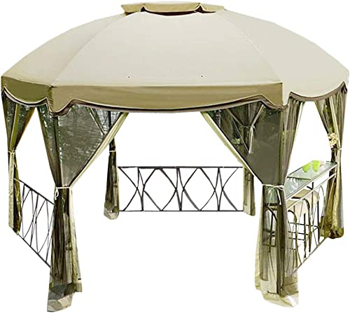 Garden Winds LCM1012B Grandview Hexagon Standard 350 Replacement Canopy