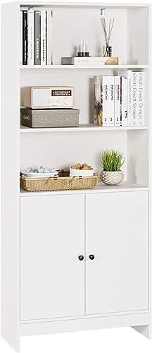 Homfa Bookcase 65.7″ Modern Bookcase