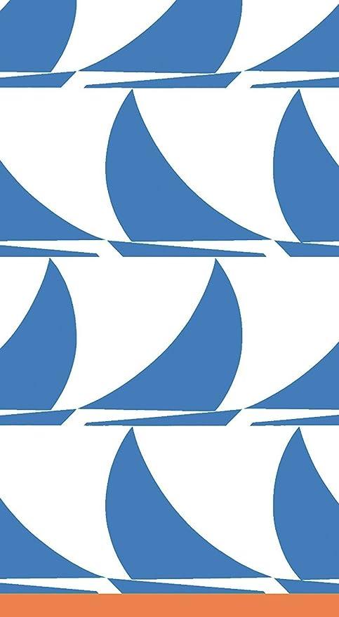 Caspari – Servilletas de Papel para Invitados Toallas, diseño de Barcos, Color Azul,