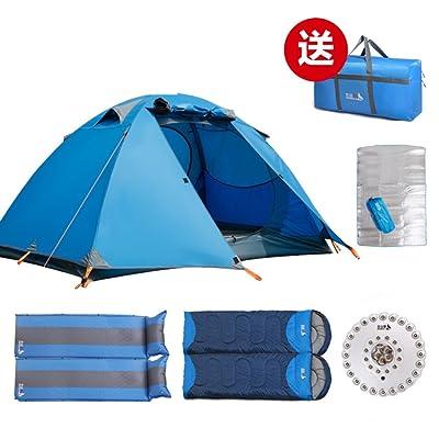 ?Vent de lumi¨¨re ext¨¦rieure et heavy rain pour deux tente de poteau en aluminium/camping Kit/fournitures d¡¯¨¦quipement de plein air?
