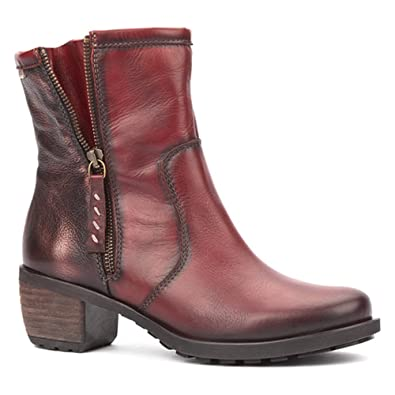 64ec79a9f2870 Pikolinos Laval Womens Boots 7/40 Arcilla Leather: Amazon.co.uk ...