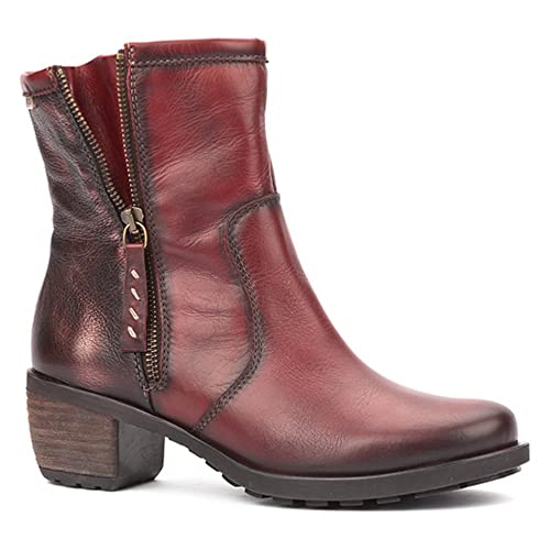 3d91b61cb8172 Pikolinos Laval Womens Boots 7/40 Arcilla Leather: Amazon.co.uk: Shoes &  Bags