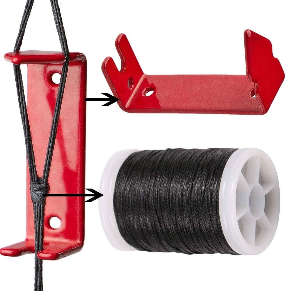Huntingdoor Bowstring Separator und Bowstring Servierfaden Peep Sight Installer Bogenschie/ßen Bogen String Separator Quick Splitter f/ür Compound Bogen