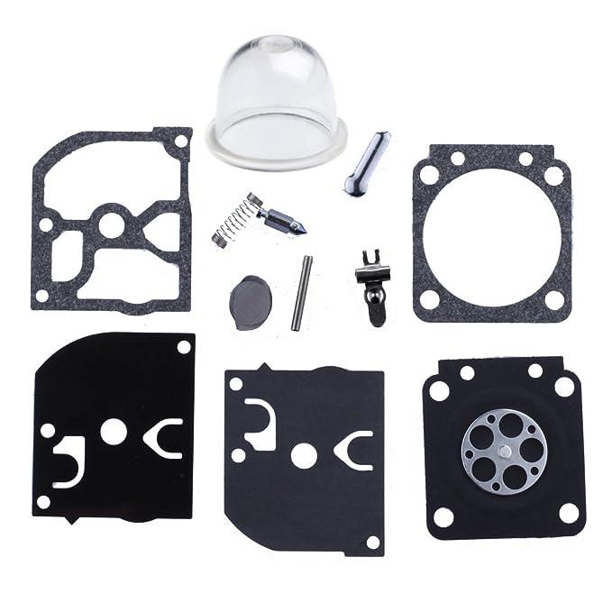 HIPA 12530008560 RB-44 Kit Joints et Membranes de Carburateur pour Souffleur à Dos ECHO PB-4600 PB-6000