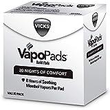Vicks VapoPads Original Menthol Scent 20 Count Menthol Scented Vapor Pad Refills, Vicks VapoPads Aromatic Pads Help Open…