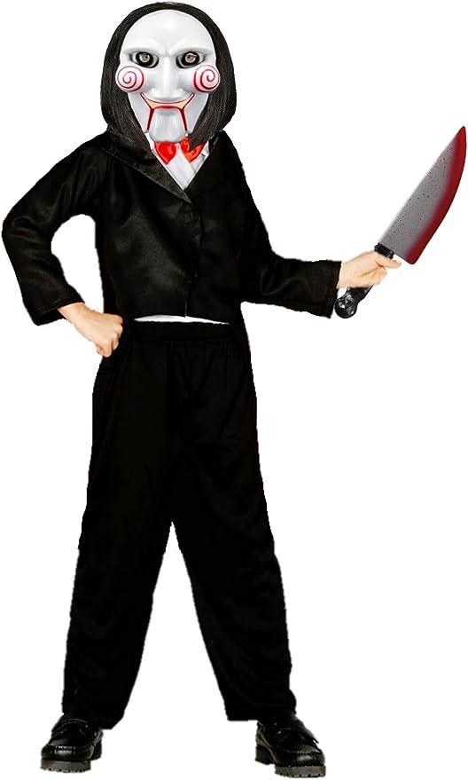 Disfraz de Marioneta Asesina Infantil (5-6 años): Amazon.es ...